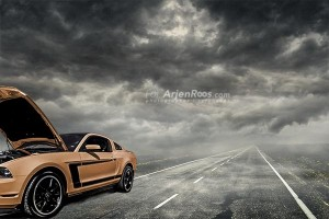 troubled road blog mustang orange