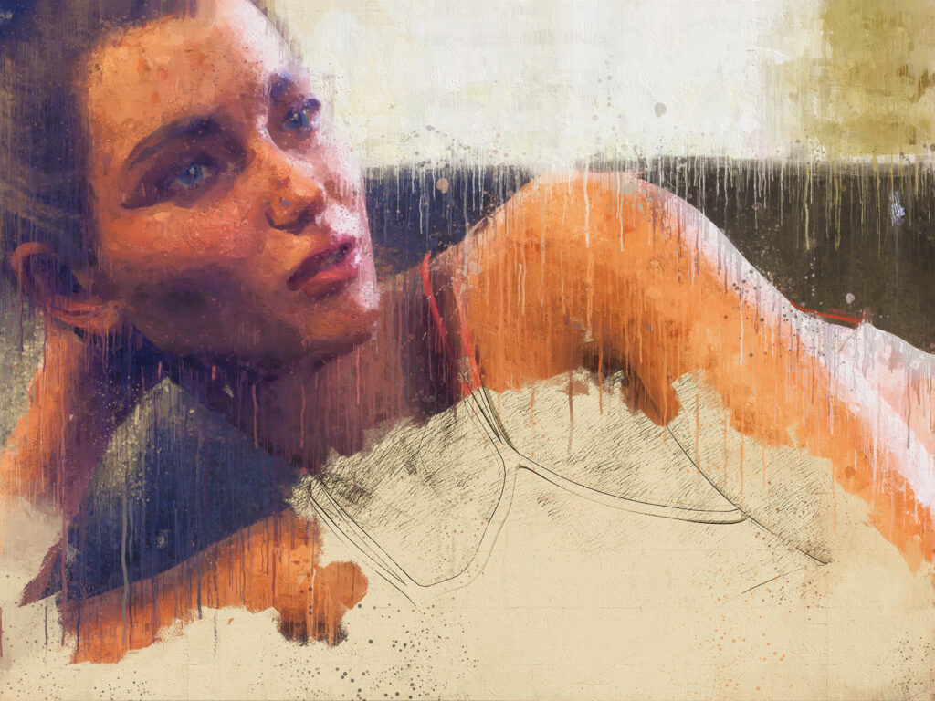 Turning a photo into a digital painting using a Photoshop action