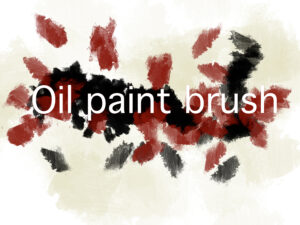Download a free oil paint photoshop brush
